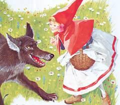 Cappuccetto Rosso E Il Lupo Golosone